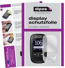 3x Accu-Check Aviva Connect Schutzfolie klar Displayschutzfolie Folie Display
