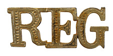 REG Region Gilded Abbreviation For Orange Order Collarette