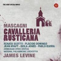 JAMES LEVINE - CAVALLERIA RUSTICANA-SONY OPERA HOUSE  CD 21 TRACKS OPERA NEUF