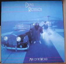 "DEMIS ROUSSOS ""MAN OF THE WORLD"" ROLLS ROYCE CAR COVER  FRENCH LP MERCURY"