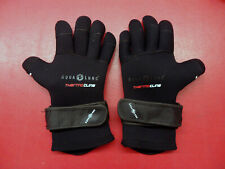 AquaLung Scuba Diving Snorkeling Gloves 5mm Wetsuit Boots Size Lg (Used)