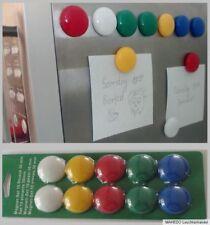 Set Kühlschrank Tafel Whiteboard Pinnwand Magnete Magnet Magnettafel farbig bunt