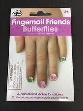 Fingernail Friends Butterflies Nail Art Stickers for Children Hector Serrano