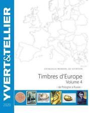 Catalogue Yvert EUROPE Volume 4 2020 (Catalogue des timbres des pays d´Europe)