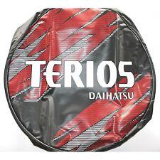 "(0184) Copriruota in pelle 16"" Daihatsu Terios rossa 64771-B4010 nuovo (1-1-B-1)"