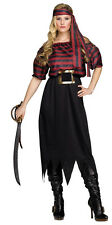 Ladies Sexy Pirate Halloween Christmas Fancy Dress Party Costume Outfit Medium