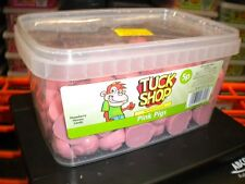 TUCK SHOP 120 PINK PIGS 900g TUB UK SWEETS PARTY HALLOWEEN BIRTHDAY ETC FREE P&P