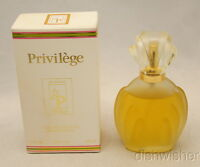PARFUMS PRIVILEGE Eau De Toilette Spray 3.3 oz 100ml New NIB Damaged Box Vintage