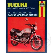 Suzuki GSX 250 E 1982-1983 Haynes Service Repair Manual 0736
