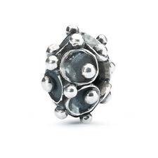AUTHENTIC TROLLBEAD ORIGINAL TAGBE-30135 SILVER SINGLE WATER LILY FAMILY