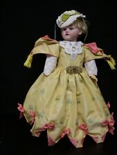 Fab Bru Type Dress, - for 16-17� Antique Bisque Head French/German Doll (Dr8)