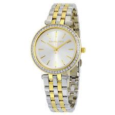 Michael Kors Original MK3405 Women Darci Mini Two-Tone Steel Bracelet Watch NIB