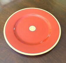 Fitz & Floyd Medaillon d'Orange ROUGE / TERRA COTTA Charger Plate