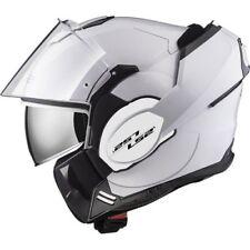 Ls2 casco modular Ff399 Valiant blanco S
