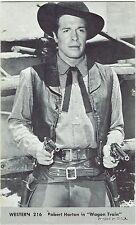 Robert Horton Wagon Train #216 Vintage Western Penny Arcade Card