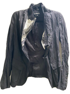 Ann Demeulemeester 40 Blazer with sheer matching trousers 42
