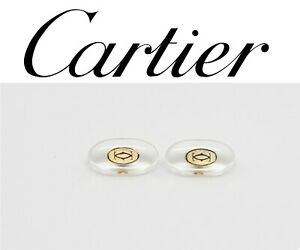 Replacement Screw-in Nose Pads for Cartier Eyeglasses Sunglasses Gold W/ Screws