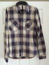 Nudie Jeans checked shirt size S New