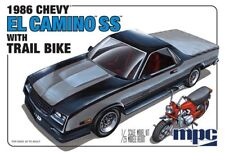 1986 Chevy El Camino w/Trail Bike 1/25 MPC Models 888 Plastic Model Kit