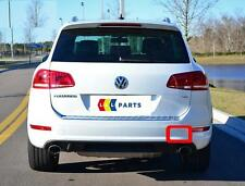 VW TOUAREG 10-14 NEW REAR R-LINE BUMPER O/S RIGHT TOW HOOK COVER CAP 7P6807450A