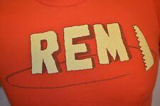 Rem R.E.M. Saw Tour Michael Stipe 90s Rock Band American Apparel S T-Shirt Euc