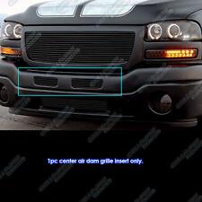 Fits 2003-2007 GMC Sierra 1500/2500HD/3500 Black Center Air Dam Grille Insert