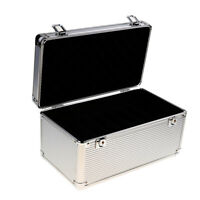 14-Bay 2.5 / 3.5inch HDD Hard Drive Protective Storage Carrying Box Aluminum
