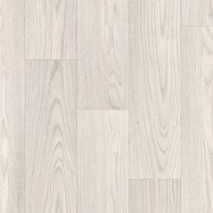 Cream White Grey Oak Wood Effect Vinyl/Lino Flooring. 2m, 3m & 4m Wide