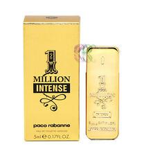 Paco Rabanne One Million Intense Edt 5ml Mini Men Perfume Eau de Toilette Boxed