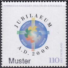 Specimen, Germany Sc2061 Holy Year 2000
