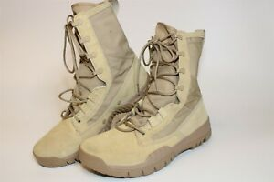 Nike SFB Mens Size 9  42.5 Suede Canvas Mid Lace Up Combat Boots 688974-200