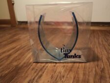 Tiny Tanks Paradise Pond Dark Blue Beta Fish Tank, Unique, Fun, Easy