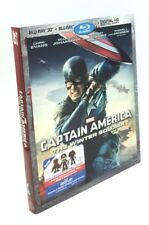 Captain America: The Winter Soldier 3D (Blu-ray 3D+Blu-ray+Digital HD, 2014) NEW
