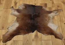"B Grade Calfhide Rugs Area Cow Skin Leather Cow hide ULG 45517 (29"" X 30"" )"