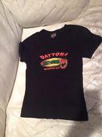 New ? Harley Davidson Daytona Beach Biketoberfest 2002 Halloween Woman T Shirt S
