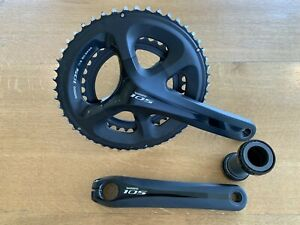 Shimano FC-5800 (105) Crankset, 172.5mm - With 50/34 Chainrings inc BSA BB