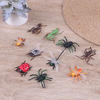 10 figura variada insectos realistas plástico juguete relleno bolsa de fie*ws