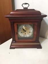 Vintage Howard Miller Tompion Model Triple Chime Bracket Clock Kieninger Mvt