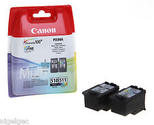 CANON CL511 CL-511 COLOUR + PG510 PG-510 BLACK