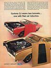 1968 Ad for 1969 Mercury Cyclone CJ 428 & CJ 428 Ram Supermuscle Fastback