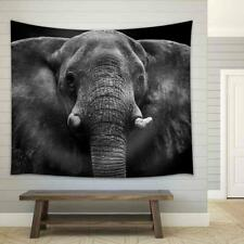 wall26 - Elephant - Fabric Wall Tapestry Home Decor - 51x60 inches