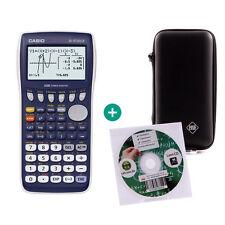 Casio fx 9750 gii calculadora gráfica calculadora + aprender CD y funda protectora