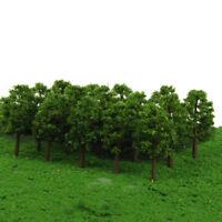 20pcs Tree N SCALE Model Train Railway Layout Garden Street Scenery 8cm