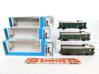 CF885-1# 3x Märklin H0/AC Gepäckwagen Pwi DRG: 4102 + 4103, Mängel+OVP