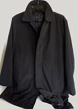 DKNY Men's Waterproof Winter Coat Removable Liner Size Medium Black Jacket M