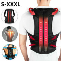 Back Posture Correction Shoulder Corrector Support Brace Belt Therapy Women Men