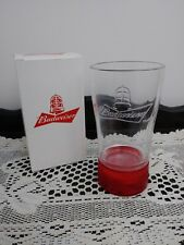 Budweiser Red Light Bluetooth Goal-Synced Glass NHL Brand New in Box