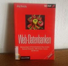 █) Web-Datenbank echt einfach Taschenbuch aus 2002 m CD-ROM - 3772370004 - shgt
