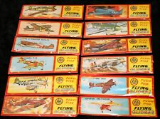 Complete Set of 12 Flying Gliders Airplanes Power Prop Collection