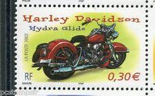 FRANCE 2002, timbre 3514, MOTO HARLEY DAVIDSON, neuf**, VF MNH STAMP, MOTORBIKE
